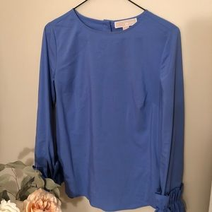 Blue women's top